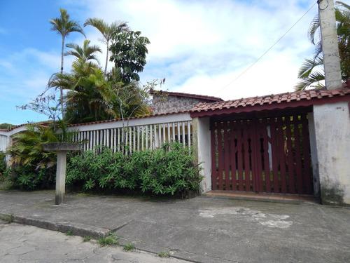 casa térrea lado praia em itanhaém a venda