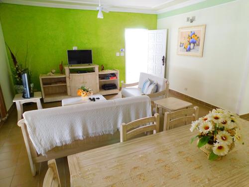 casa térrea mobiliada em bairro nobre a venda em peruíbe
