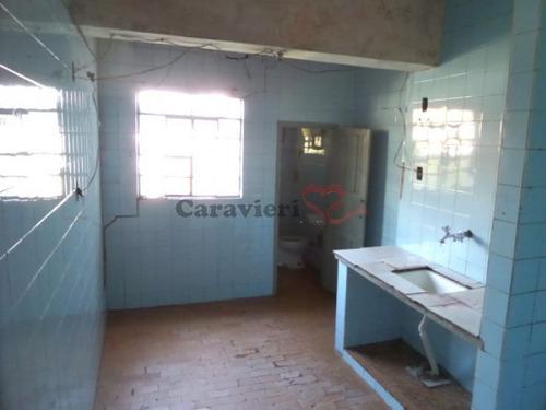 casa térrea para locação no bairro jardim jaú (zona leste), 1 dorm, 0 suíte, 0 vagas, 1 m - 12305