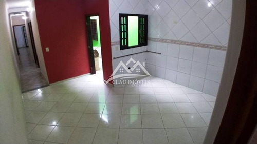 casa térrea para venda no bairro vila lutécia, 2 dorm, 2 vagas, 85 m, 124 m - 549