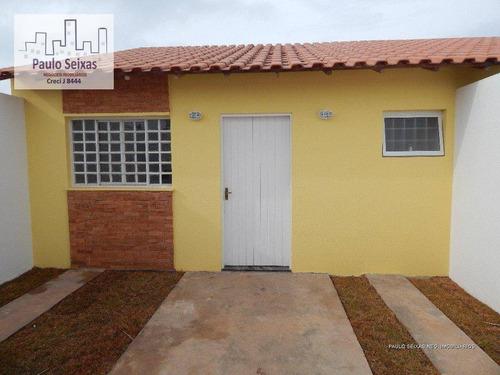 casa térrea residencial à venda, estância lago azul, franco da rocha. - ca0065
