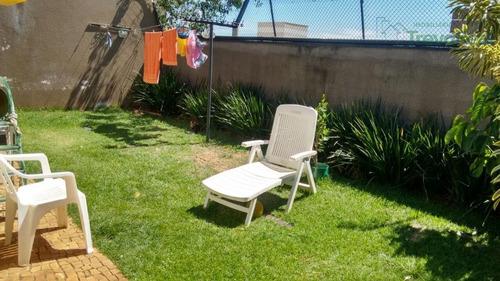 casa térrea à venda, condomínio flor da serra , valinhos. - ca0961