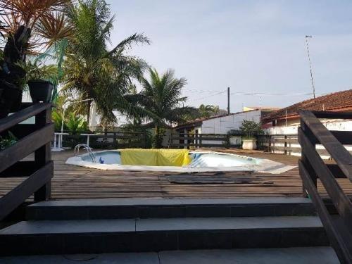 casa + terreno c/ área gourmet em itanhaém-sp! confira!