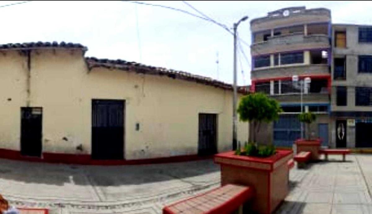 casa terreno en caraz plaza chiquinkira