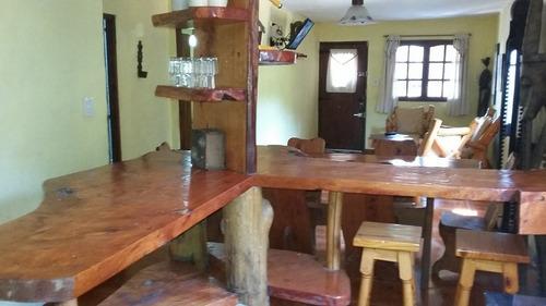 casa tipo cabaña disponible 2da quincena febrero y marzo