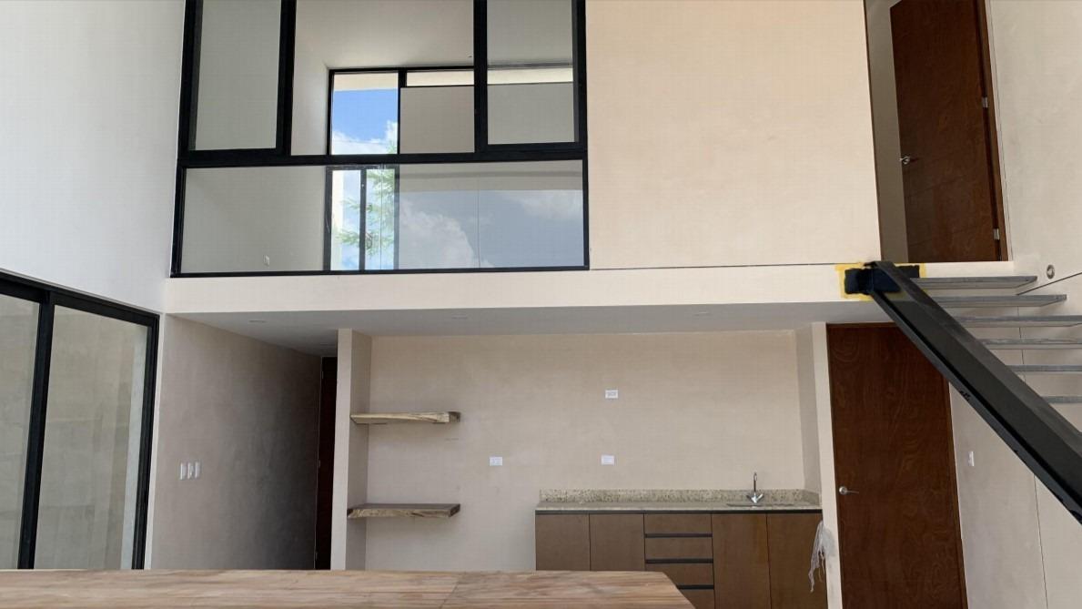casa tipo loft en venta en temozon norte