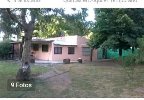 casa tipo quinta en alquiler - general rodriguez -(ref. 163)