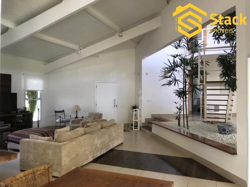 casa tipo sobrado a venda em jundiaí (divisa com itupeva) no condomínio fechado vivendas do japi - ca01202