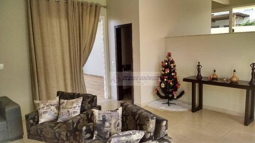 casa tipo sobrado no alphaville cuiabá com 4 dormitórios à venda, 332 m² por r$ 1.550.000 - condomínio alphaville cuiabá - cuiabá/mt - so0073
