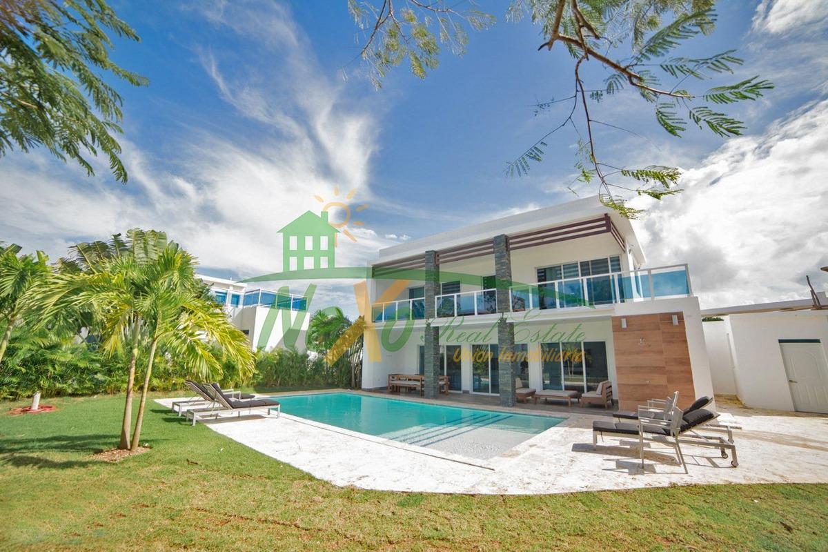 casa tipo villa en venta a orillas de sosua (eac-180 d)