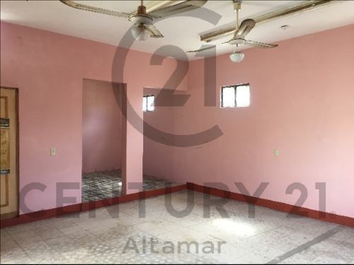 casa tradicional de 1 piso en venta, col. echeverria, tampico, tamaulipas.