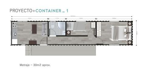 casa tres ambientes estilo minimalista a estrenar
