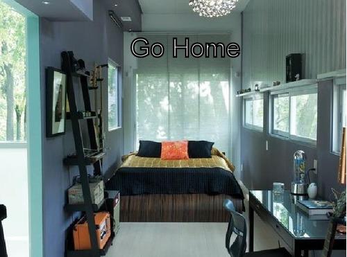 casa tres ambientes estilo minimalistas a estrenar