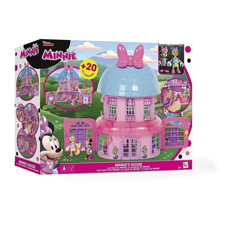 Casa Tres Pisos Con Luz Y Sonido Minnie Mouse Original - $ 2.079,00 ...