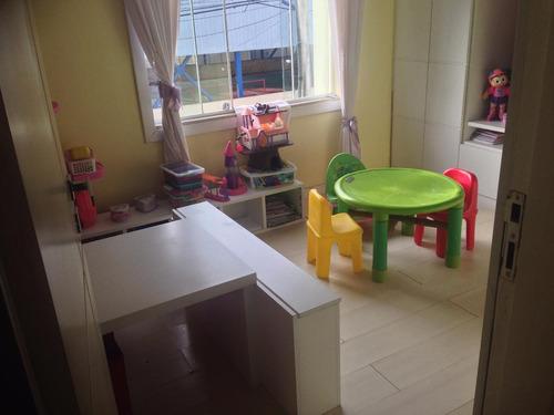 casa triplex com 3 quarto (2 suítes) 1 vaga - village santa - 320