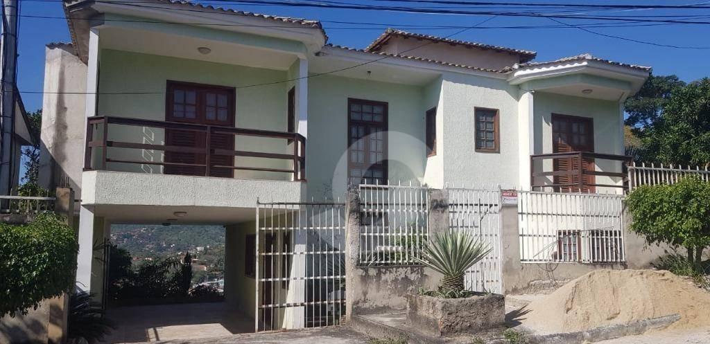 casa triplex de 4 quartos em alto padrão, em maria paula, são gonçalo. - ca1470