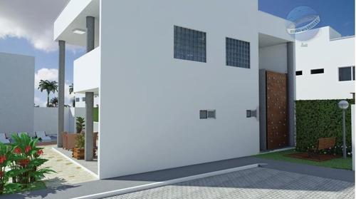 casa triplex em nova parnamirim, com 3 suítes, solário e área gourmet - douro village - ca0012