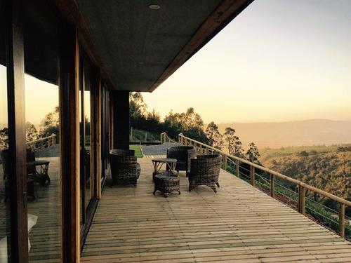 casa tunquen / campomar (naturaleza-descanso-playa-piscina)