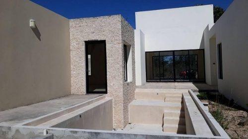 casa un nivel en 600 m² privada conkal en merida
