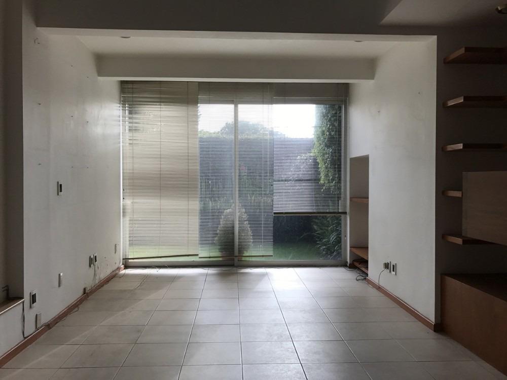 casa un piso uso oficinas en renta pedregal