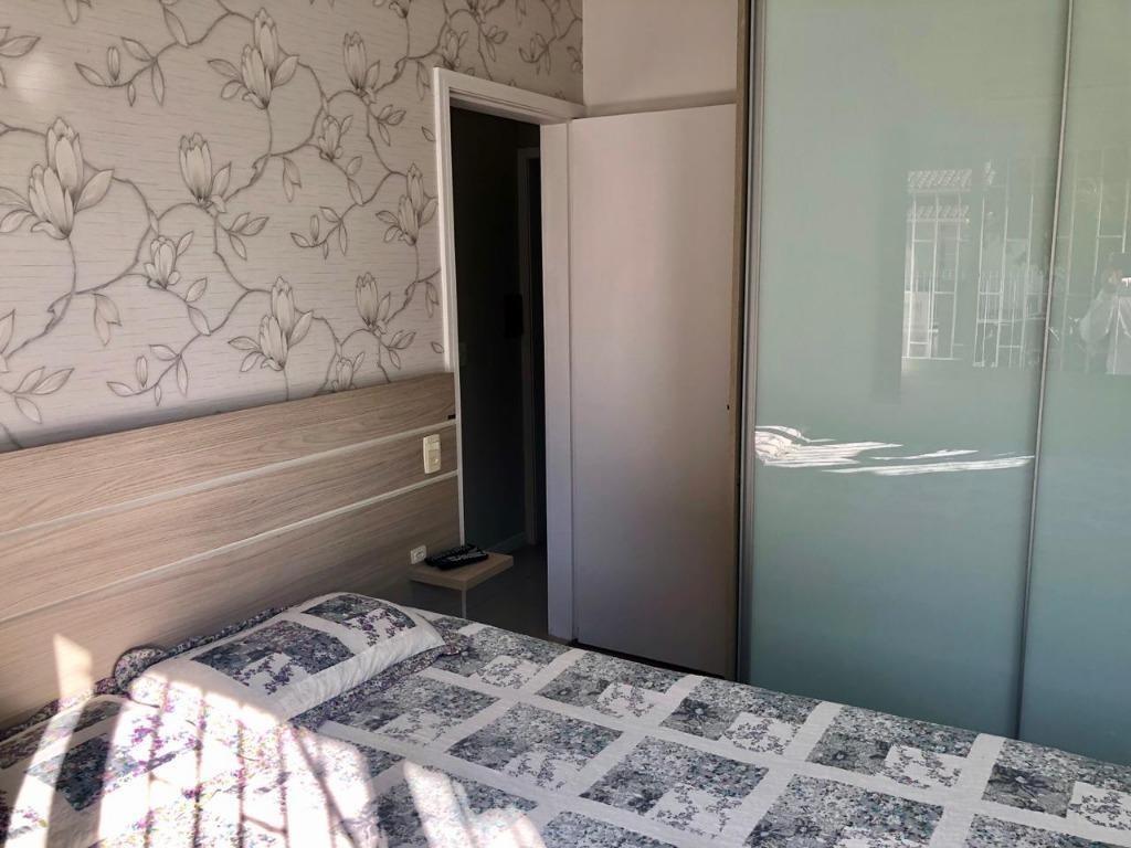 casa única no terreno com 2 dormitórios à venda, 62 m² por r$ 300.000 - são sebastião - palhoça/sc - ca2354