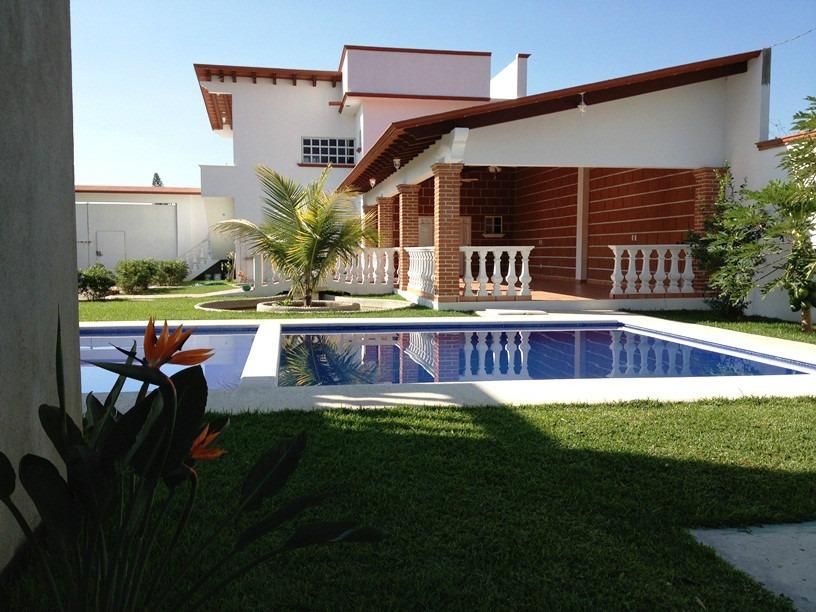 Casa vacacional oaxtepec cocoyoc fines de semana eventos for Casa con piscina fin de semana madrid