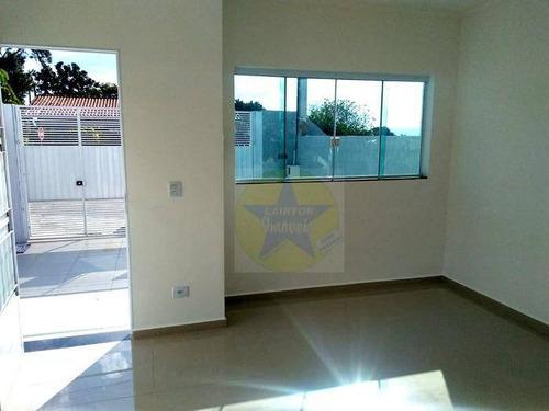 casa à venda, 100 m² por r$ 350.000,00 - jardim dos pinheiros - atibaia/sp - ca1825