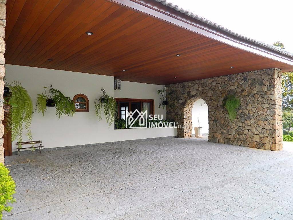 casa à venda, 1000 m² por r$ 3.800.000,00 - condomínio terras de são josé - itu/sp - ca1470