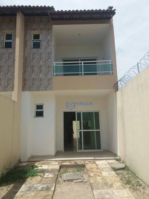 casa à venda, 116 m² por r$ 190.000,00 - prefeito josé walter - fortaleza/ce - ca0496