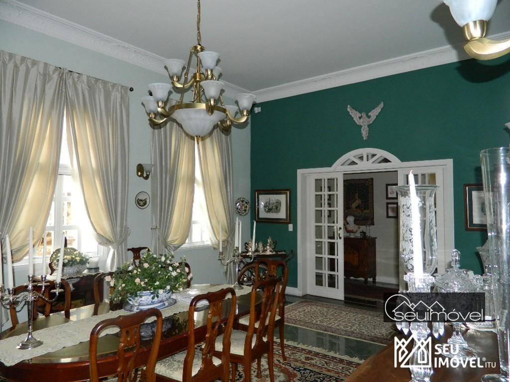 casa à venda, 1177 m² por r$ 9.000.000,00 - fazenda vila real de itu - itu/sp - ca0231