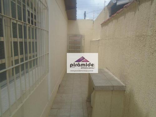 casa à venda, 130 m² por r$ 540.000,00 - jardim das indústrias - são josé dos campos/sp - ca2659