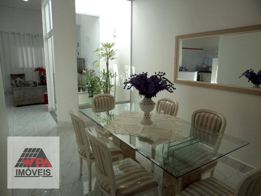 casa à venda, 139 m² por r$ 560.000,00 - parque novo mundo - americana/sp - ca1558