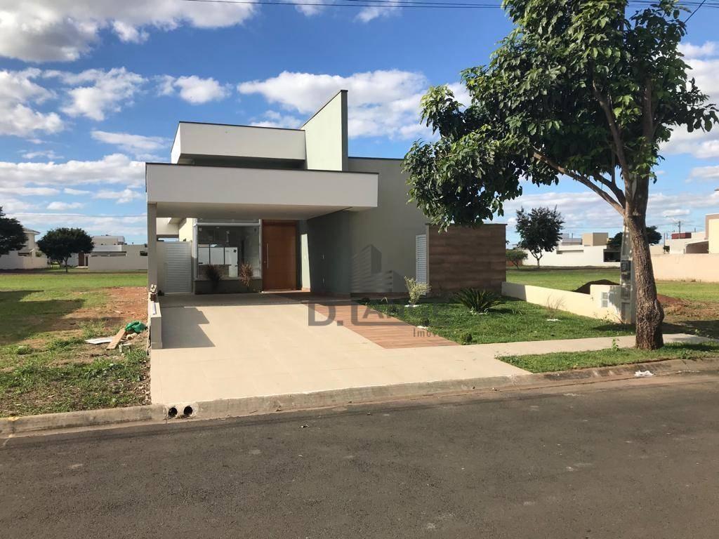 casa à venda, 155 m² por r$ 630.000,00 - condomínio campos do conde ii - paulínia/sp - ca13126