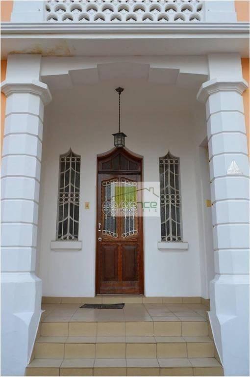 casa à venda, 178 m² por r$ 650.000,00 - centro - campinas/sp - ca1056
