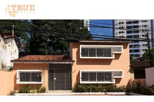casa à venda, 220 m² por r$ 640.000 - torre - recife/pe - ca0213