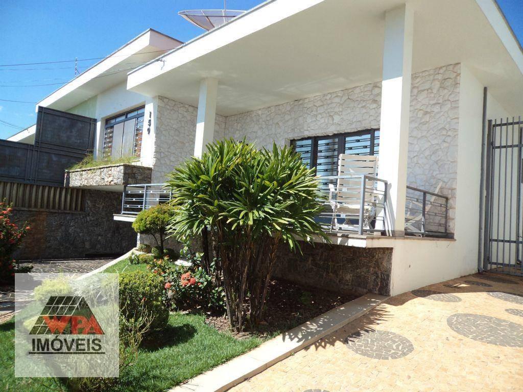 casa à venda, 228 m² por r$ 750.000,00 - vila rehder - americana/sp - ca0255