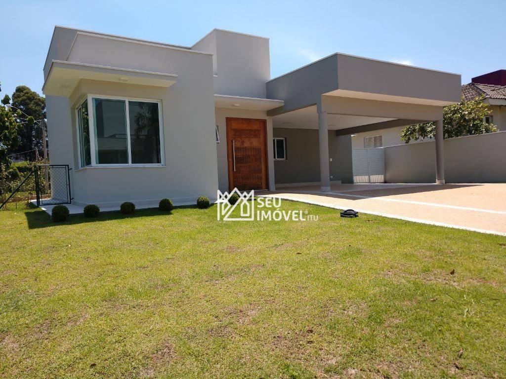 casa à venda, 228 m² por r$ 990.000,00 - condomínio palmeiras imperiais - salto/sp - ca1649
