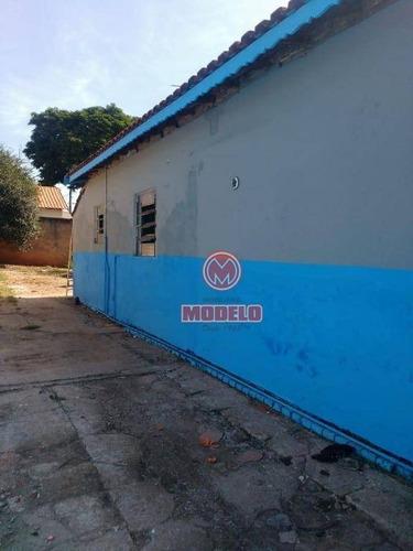 casa à venda, 250 m² por r$ 210.000,00 - centro - saltinho/sp - ca2608