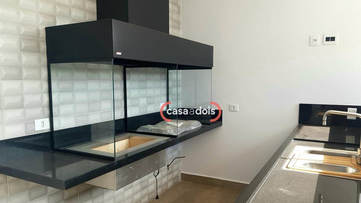 casa à venda, 252 m² por r$ 1.290.000,00 - jardim residencial giverny - sorocaba/sp - ca0543
