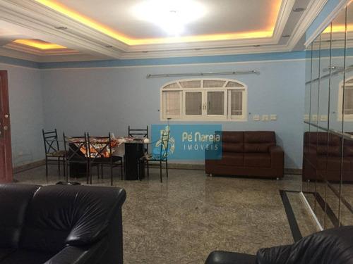 casa à venda, 256 m² por r$ 1.500.000 - r4f704c - canto do forte - praia grande/sp - ca0014