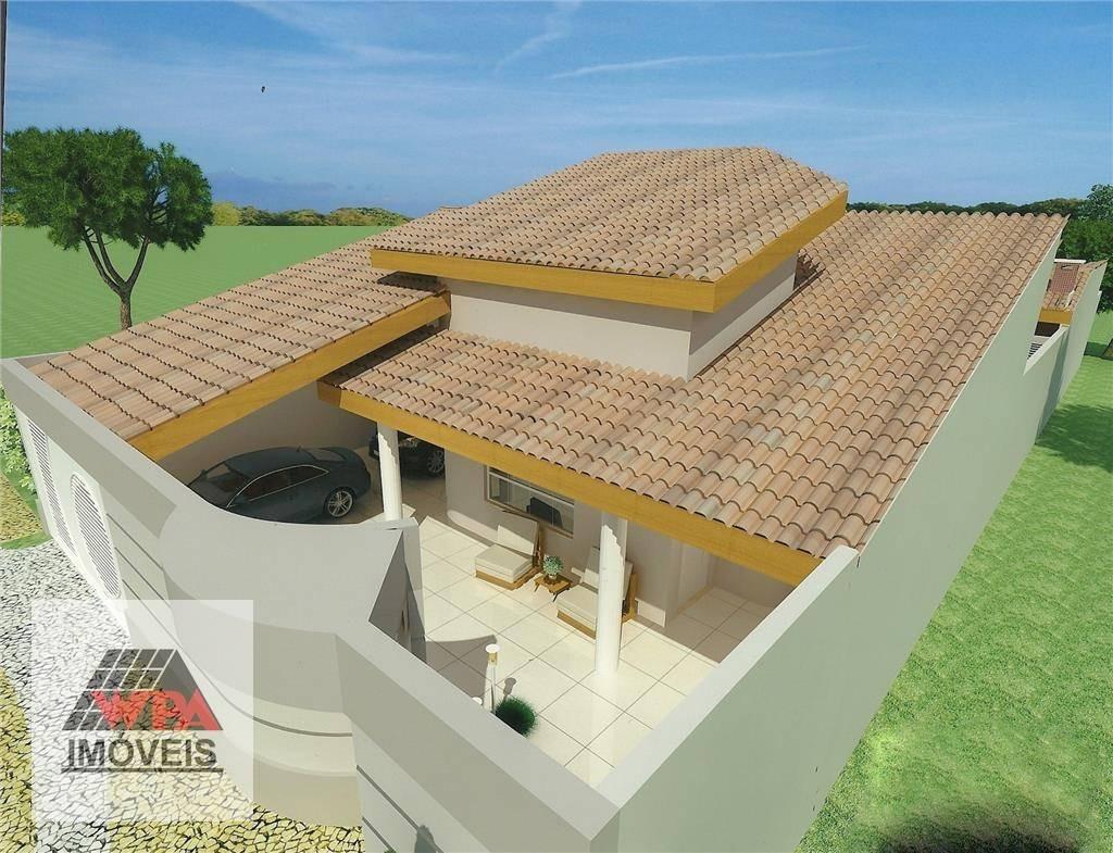 casa à venda, 257 m² por r$ 420.000,00 - jardim progresso - americana/sp - ca0384