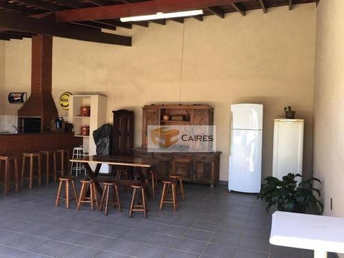 casa à venda, 286 m² por r$ 600.000 - jardim nova europa - campinas/sp - ca2165