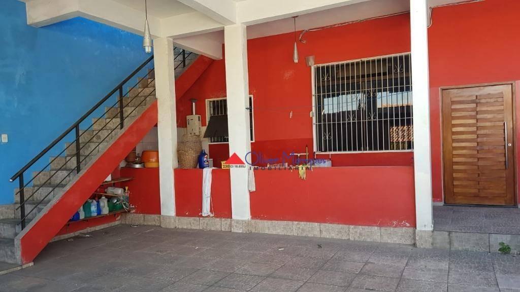 casa à venda, 298 m² por r$ 585.000,00 - jaguaribe - osasco/sp - ca1405