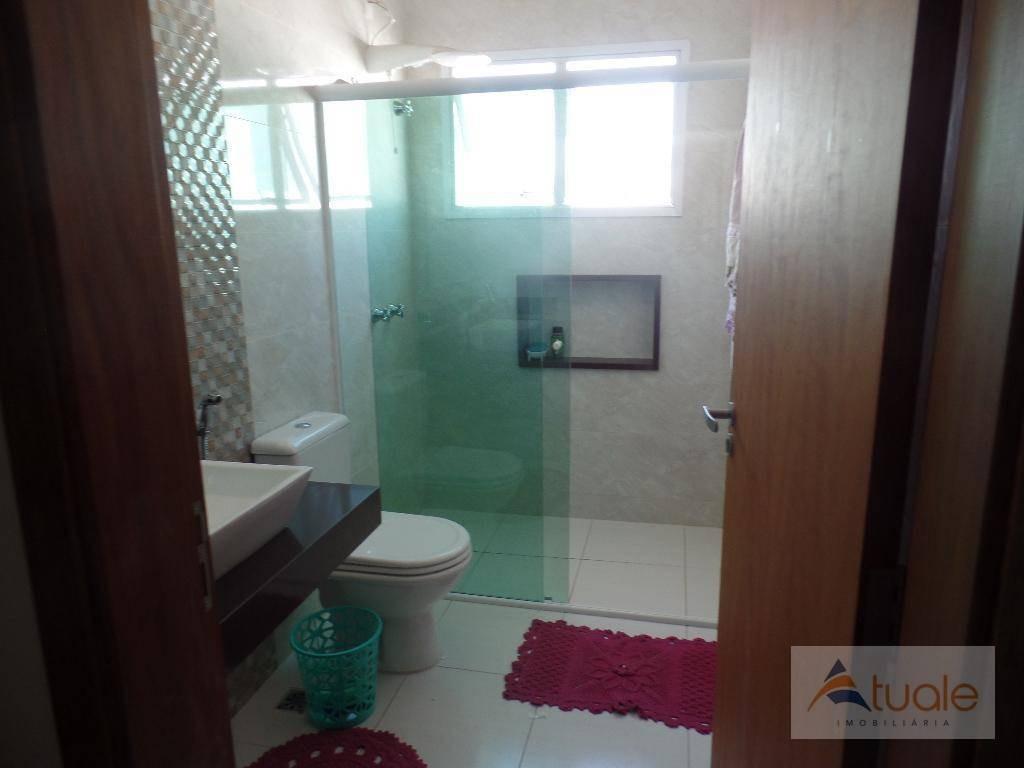 casa à venda, 300 m² por r$ 1.100.000,00 - residencial portal do lago - sumaré/sp - ca6073