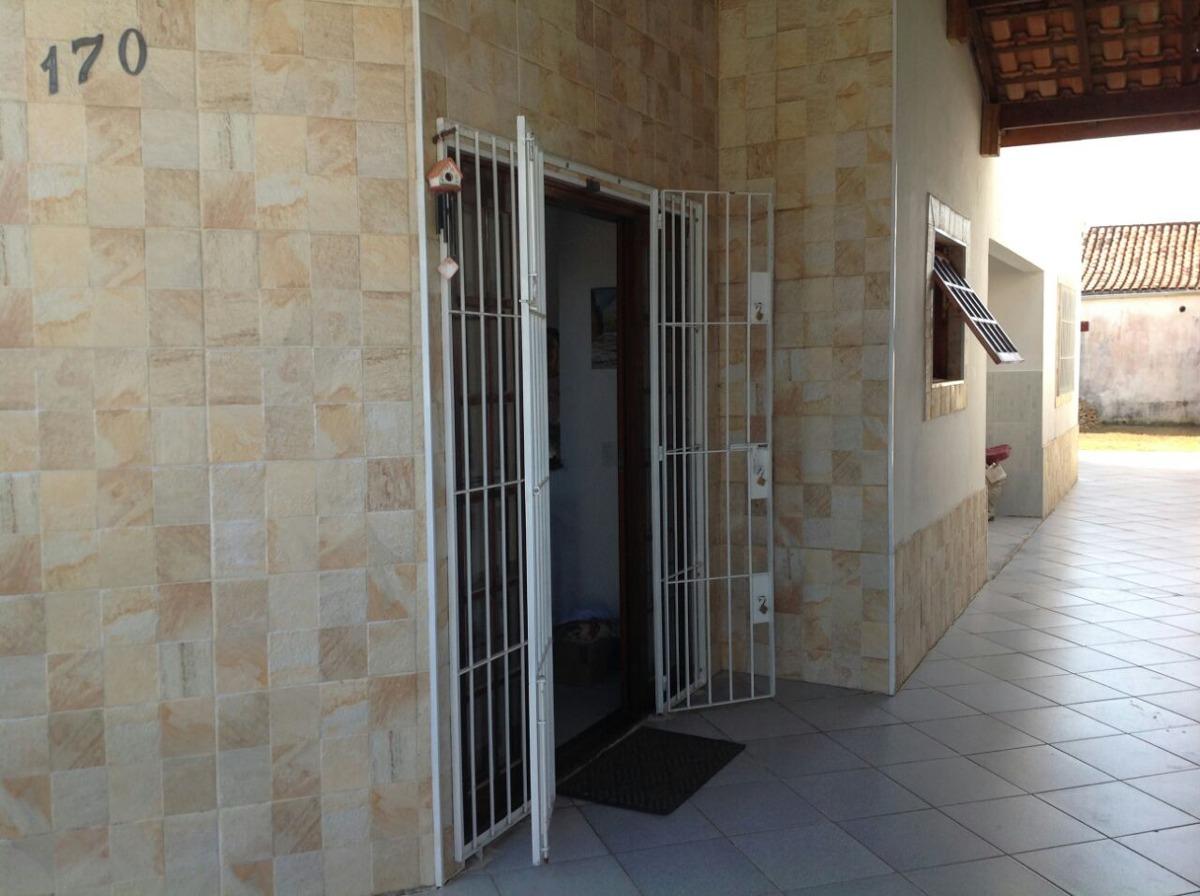 casa à venda 300 metros da praia em itanhaém. ref. 314