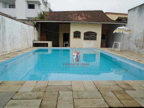 casa à venda, 320 m² por r$ 630.000,00 - aviação - praia grande/sp - ca0155