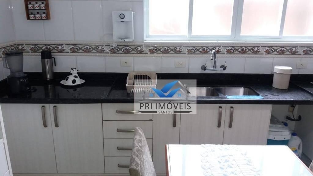 casa à venda, 332 m² por r$ 1.690.000,00 - boqueirão - santos/sp - ca0031