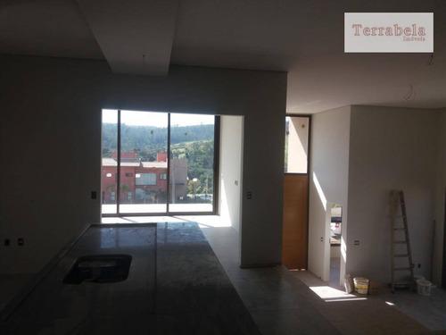 casa à venda, 350 m² por r$ 1.800.000,00 - condomínio campo de toscana - vinhedo/sp - ca0230