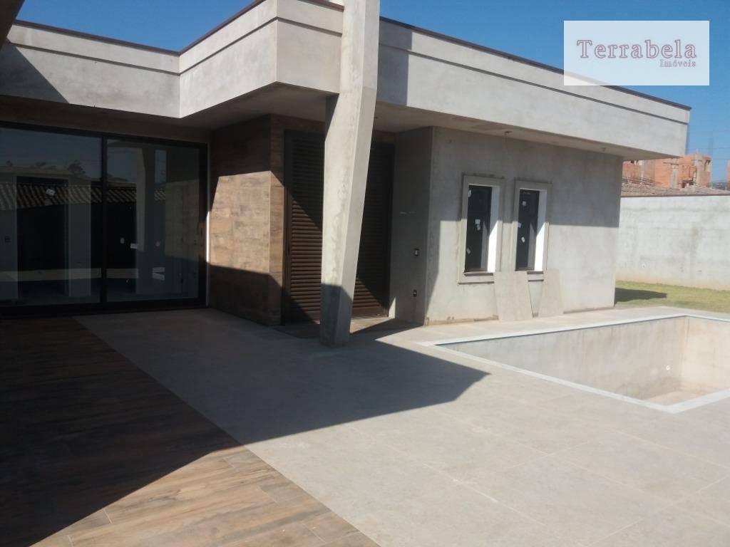 casa à venda, 350 m² por r$ 1.950.000,00 - condomínio campo de toscana - vinhedo/sp - ca0230