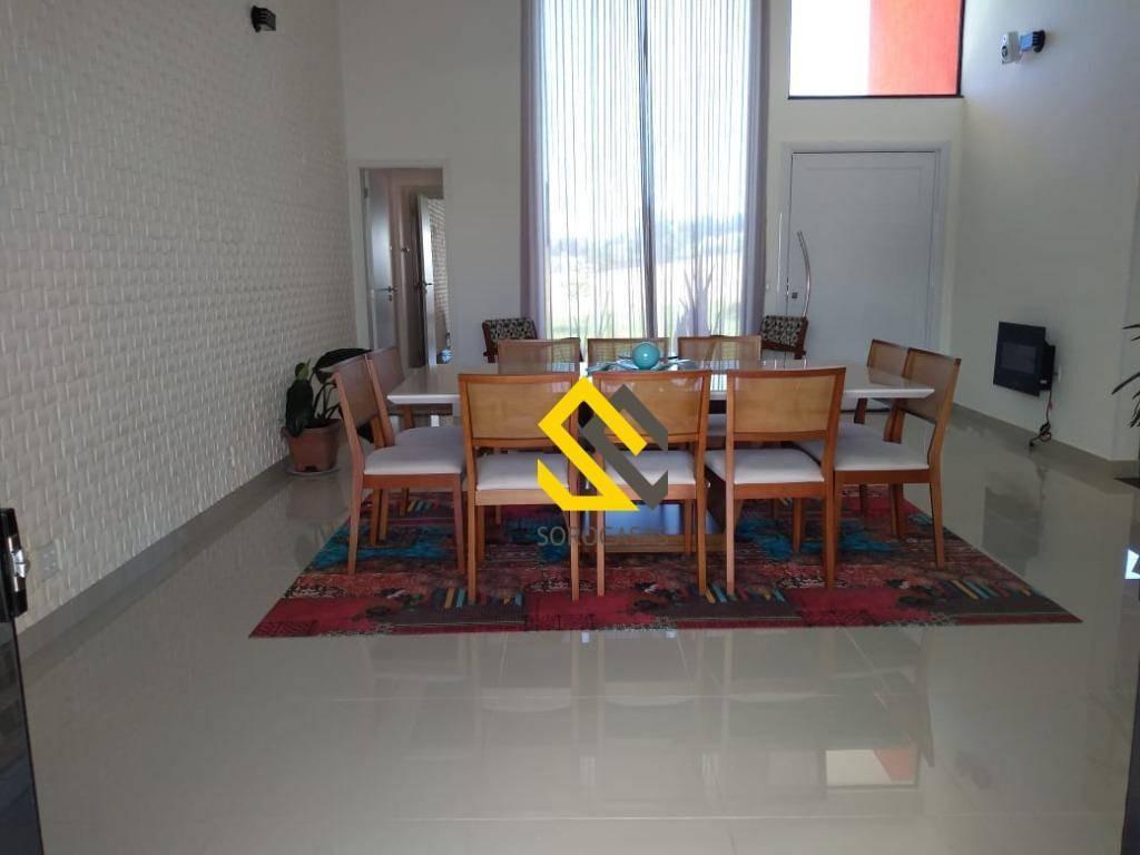 casa à venda, 400 m² por r$ 2.050.000,00 - condominio solar do bosque - sorocaba/sp - ca1551